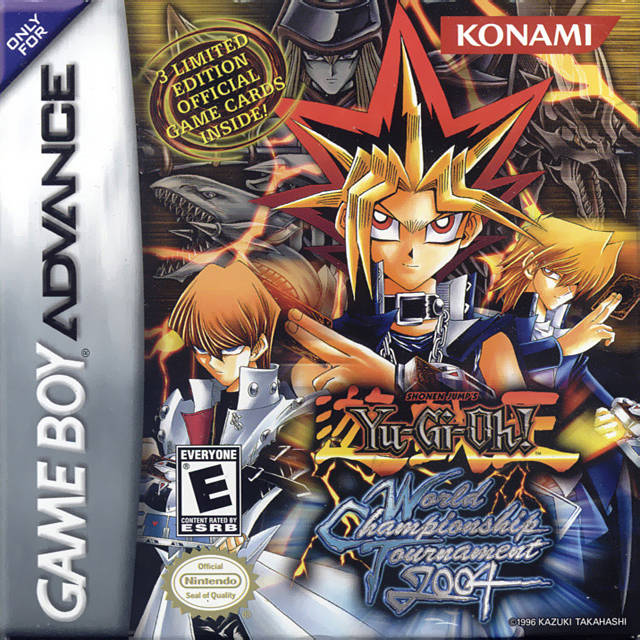 Yu-gi-oh! The sacred cards rom gameboy advance (gba.